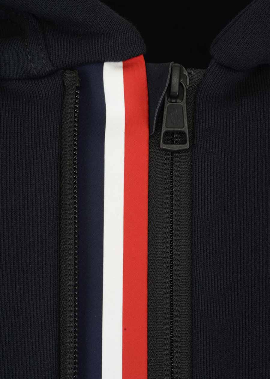 MONCLER SWEATER WITH HOOD